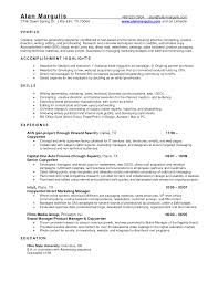 Fascinating Resume Example For Automotive Service Manager For