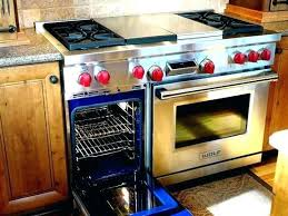 wolf double oven. Wolf 48 Gas Range Amazing GR484DG 4 Burners W Double Griddle Intended For 8 Oven