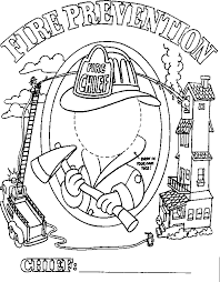 Small Picture Fire Safety Coloring Pages ngbasiccom