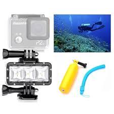 Underwater Camera Light Mount Us 19 89 Orsda Led Flash Light Waterproof Underwater Fill Lamp Diving Video Lights Mount For Gopro Sjcam Sj4000 H9 H9r Xiaomi Yi Or007 In Sports