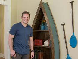 how to build a lake inspired boat shelf