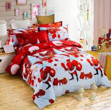 happy duvet cover sets 3d cartoon kids children bedding sets gift duvet cover pillowcase twin queen king size comforters duvet