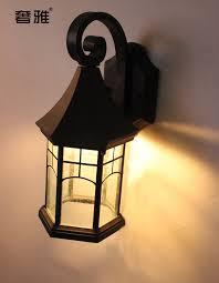 mediterranean outdoor lighting. Lighting Vintage Outdoor Wall Lamp Fashion Waterproof Garden Lights American Style Mirror Light-in Lamps From \u0026 On Mediterranean