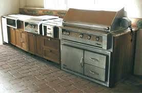 outdoor kitchen cabinet doors cabinets stunning with stainless steel sink outdo