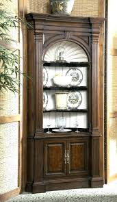 used curio cabinets corner curio cabinets with glass doors used wall curio cabinet with glass doors