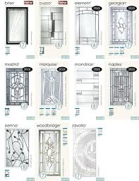 entry door glass inserts replacement stun front home ideas 33