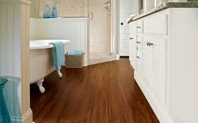 bathrooms with wood floors. Interesting Wood Floor For Bathroom Flooring Design Ideas: Remarkable Brown Walnut Bathrooms With Floors A