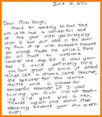 12 Thank You Letter To Teacher From Student Phoenix Officeaz