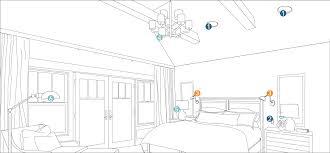Cool lighting plans bedrooms Living Room Bedroom Bedroom Lighting Planner Lumens Lighting How To Light Room Lighting Planning By Room At Lumenscom