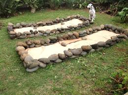 great rock for garden bed fall raised building a stone best idea the inspiration cost design full size edging border rockery landscaping bunning wall path