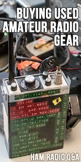 Used amateur radio gear