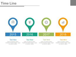 Year Timeline Year Based Timeline For Success Milestones Powerpoint Slides Ppt