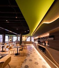 unique restaurant lighting ideas leds. Design Firm LAVA Have Designed Olio, A Sicilian Restaurant In Sydney, That Uses Recessed Unique Lighting Ideas Leds O