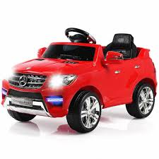 Check out our electric toy car selection for the very best in unique or custom, handmade pieces from our vehicles shops. Costway Mercedes Benz Ml350 6v Electric Kids Ride On Car Licensed Mp3 Rc Remote Control Walmart Com Walmart Com