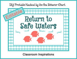 Behavior Clip Chart Coordinates With Nautical By The Sea Collection