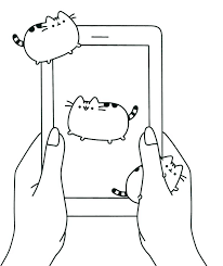 Iphone Printable Coloring Pages Cell Phone Many Interesting Mobile