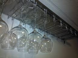 Wine Glass Hangers Under Cabinet Ekby Mossby Wine Rack Ikea Hackers Ikea Hackers