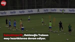 Sancaktepe FK, Hekimoğlu Trabzon maçı hazırlıklarını ediyor - Dailymotion  Video