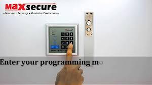 Maxsecure G2000 <b>Door Access</b> Configuration Manual - YouTube