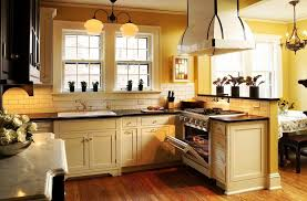 Cream Color Kitchen Cabinets With Cream Kitchen Cabinets Coastal Inside  Kitchen Reference