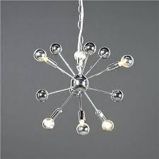 chandeliers small sputnik chandelier 6 for our tiny bathroom its all quincy