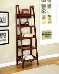wooden display ladder new style bookcase shelving wood shelves