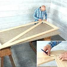 barn door bed frame build barn door mark the length of the cross bar barn door barn door bed frame