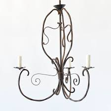 art nouveau iron curly old antique