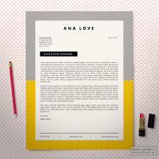 Design Cover Letter Resume Template Cv Template Design Cover Letter Ideas Of Cover 23