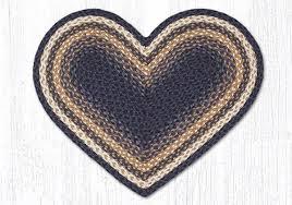 braided plain heart shape