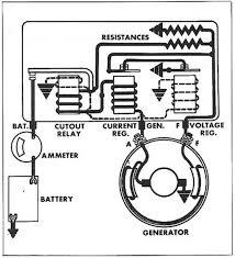 Ford Voltage Regulator To Generator Wiring Diagram GM Voltage Regulator Wiring