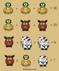 brain teaser number and math puzzle math equation with answer solve this easy