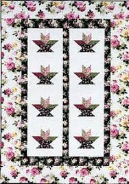 Snowy River Quilts & Flower Baskets quilt pattern by Debbie Maddy Adamdwight.com
