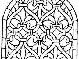 46 Stained Glass Window Coloring Pages Stained Glass Window