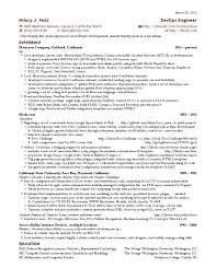 devops engineer resume indeed hilary s one page devops engineer resume java script world wide web
