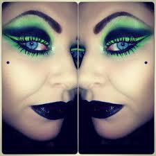 eva telejko on twitter the wicked witch inspired make up obsidian vs pivot illamasqua green was never my fav colour but i love it now