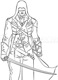 Pingl Par Nathalie Monio Sur Coloriage Assassin S Creed