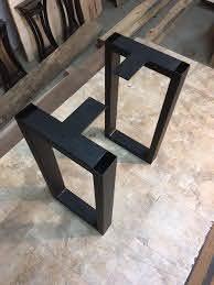 steel table legs diy table legs metal