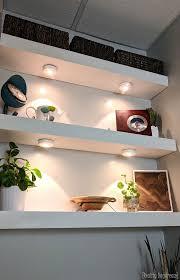 how to build diy floating shelves