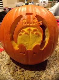 Totoro Pumpkin Designs Totoro Pumpkin Instructables