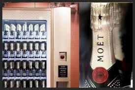 Champagne Vending Machine Classy MOETCHANDON VENDING MACHINE Luxury Topics Luxury Portal Fashion