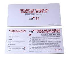 Raffle Event 07 Charity Event Budget Raffle Tickets