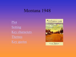 ms marootian rise english montana essay assignment  montana 1948 st1englishs2