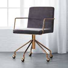 cool gray office furniture. Rouka Grey Velvet Office Chair Cool Gray Furniture I