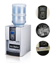 home appliances counter top hot cold water dispenser with ice maker machine countertop ice cube great for home office rv boat