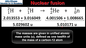 c 7 calculating energy released in nuclear reactions hl