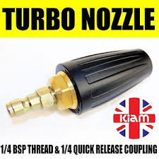 Details About Turbo Nozzle Spinning Spray Jet 11 6mm Quick Release Male For Pressure Washer
