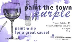 paint the town purple fundraiser presented by california partnership to end domestic violence community sacramento365
