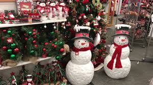 kohl s christmas decorations in set up october 2017 first look