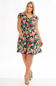 Cut Out Neckline Dress Dresses Dream Diva Plus Size And